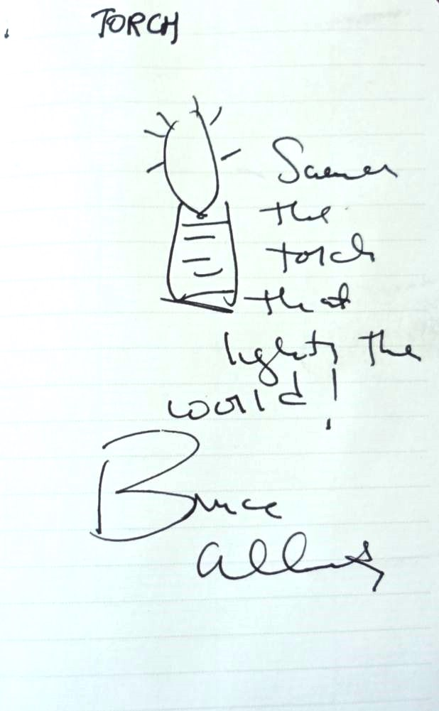 Bruce Alberts's drawing